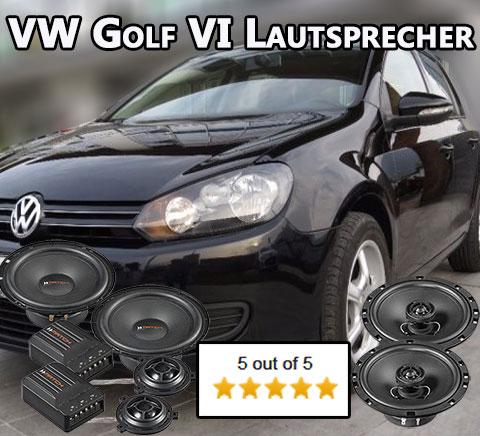 vw golf vi golf 6 lautsprecher auto lautsprecher. Black Bedroom Furniture Sets. Home Design Ideas