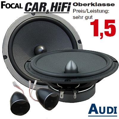 Audi-A3-8P-Lautsprecher-Oberklasse-sehr-gut-vordere-Türen