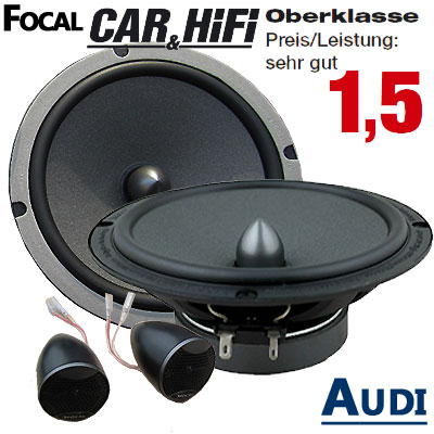 Audi-A4-B6-Lautsprecher-Oberklasse-sehr-gut-hintere-oder-vordere-Türen
