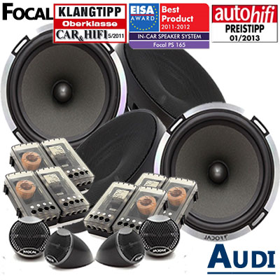 Audi-A4-B7-Lautsprecher-Testsieger-4-Hochtöner-Komplettset