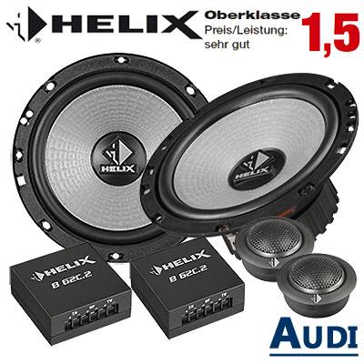 Audi-A6-Typ-4F-Lautsprecher-Oberklasse-sehr-gut-hintere-Türen