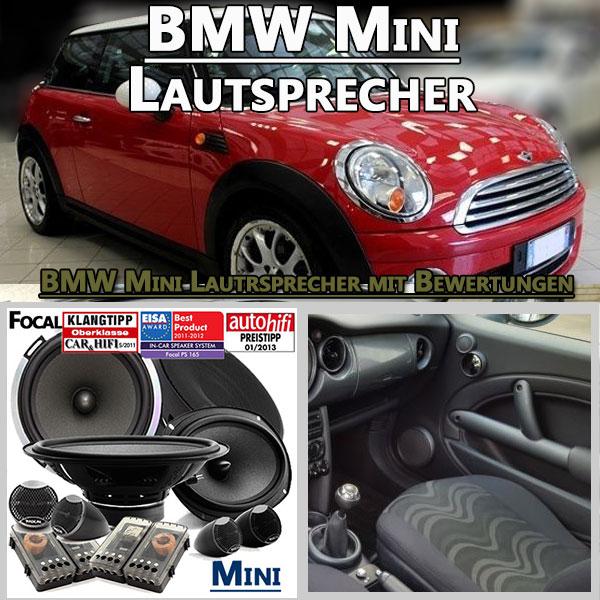 BMW-Mini-Dreitürer-Lautsprecher-Set-vorne-hinten
