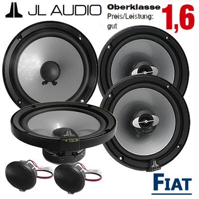 Fiat-Bravo-Lautsprecher-Set-Oberklasse-vordere-und-hintere-Türen