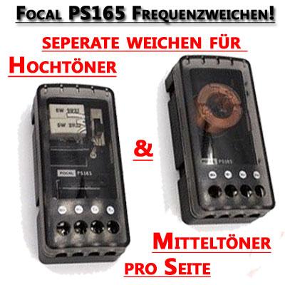 Focal-PS165-Frequenzweichen