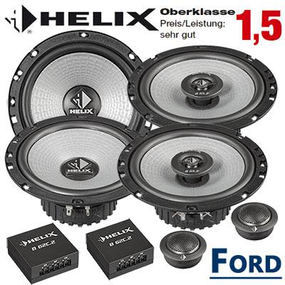Ford-C-Max-Auto-Lautsprecher-Set-Oberklasse-vorne-hinten