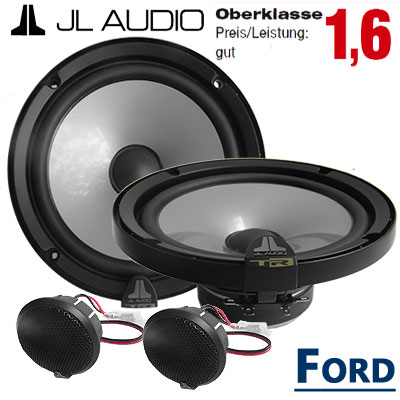 Ford-C-Max-Lautsprecher-Oberklasse-gut-vordere-Türen