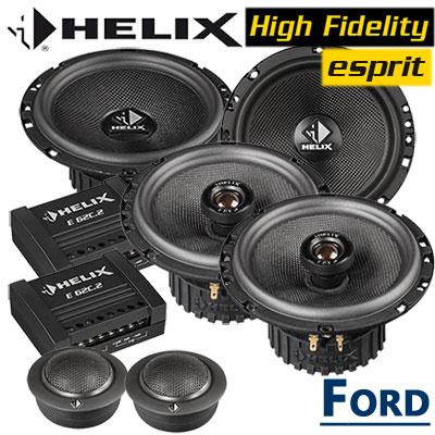 Ford-Focus-2-Lautsprecher-Einbauset-vordere-und-hintere-Einbauplätze