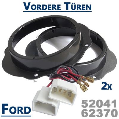 Ford-Kuga-Lautsprecher-Einbauringe-vordere-Türen