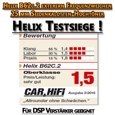 Helix-B62C-2-Test-Beurteilung