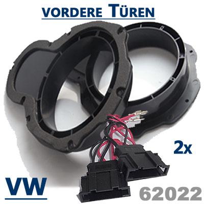 Lautsprecherringe-vordere-Türen-VW-Passat-B6