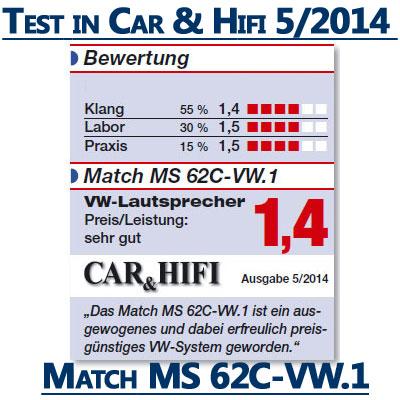 Match-MS62C-VW-1-Test-Beurteilung