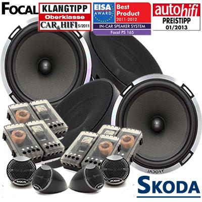 Skoda-Roomster-Lautsprecher-Testsieger-4-Hochtöner-Komplettset