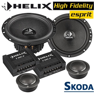 Skoda-Superb-II-Lautsprecher-Soundsystem-vorne-oder-hinten