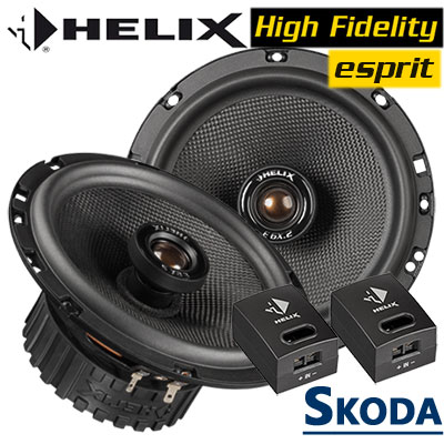 Skoda-Yeti-Koaxial-Lautsprecher-Boxen-für-die-hinteren-Türen
