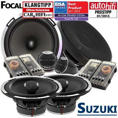 Suzuki-Grand-Vitara-Lautsprecher-Set-Testsieger-vorne-und-hinten