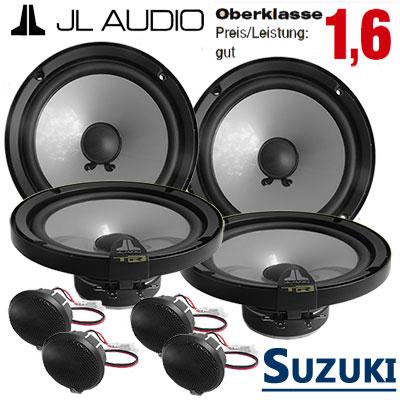 Suzuki-SX4-Lautsprecher-Set-Oberklasse-vordere-und-hintere-Türen