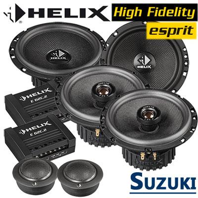 Suzuki-Swift-Lautsprecher-Einbauset-vordere-und-hintere-Einbauplätze