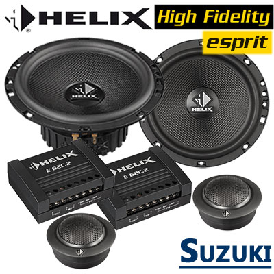 Suzuki-Swift-Lautsprecher-Soundsystem-vordere-oder-hintere-Einbauplätze