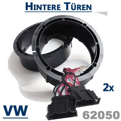 VW-Golf-4-Variant-Lautsprecherringe-hintere-Türen