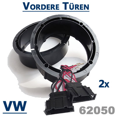 VW-Golf-4-Variant-Lautsprecherringe-vordere-Türen