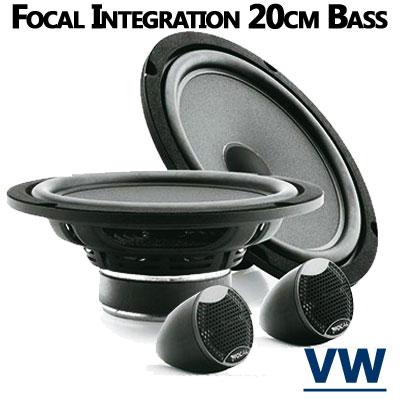VW-New-Beetle-Lautsprecher-20cm-Bass-mit-Hochtöner-vordere-Türen