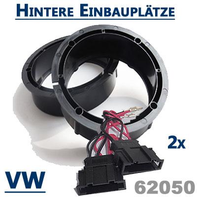 VW-New-Beetle-Lautsprecherringe-hintere-Einbauplätze