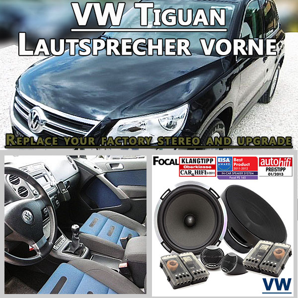 radio adapter lautsprecher und autoradio shop vw tiguan. Black Bedroom Furniture Sets. Home Design Ideas