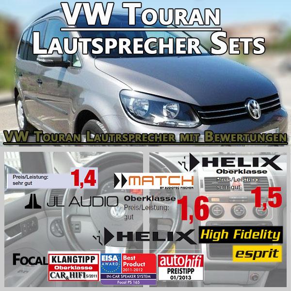 VW-Touran-Lautsprecher-Sets VW Touran Lautsprecher Oberklasse sehr gut hinten und vorne VW Touran Lautsprecher Oberklasse sehr gut hinten und vorne VW Touran Lautsprecher Sets