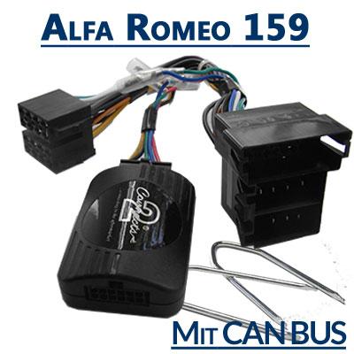 Alfa Romeo 159 Lenkrad Fernbedienung Adapter mit CAN BUS Alfa Romeo 159 Lenkrad Fernbedienung Adapter mit CAN BUS