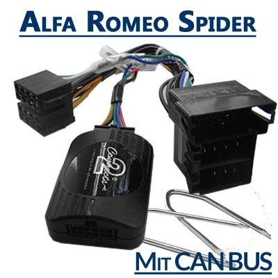 Alfa-Romeo-Spider-Adapter-für-Lenkradfernbedienung-mit-CAN-BUS