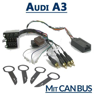 Audi-A3-Adapter-für-Lenkradfernbedienung-mit-CAN-BUS