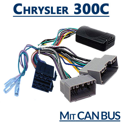 Chrysler-300C-Adapter-für-Lenkradfernbedienung