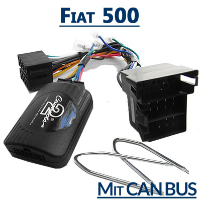 fiat 500 lenkrad fernbedienung adapter mit can bus Fiat 500 Lenkrad Fernbedienung Adapter mit CAN BUS Fiat 500 Lenkrad Fernbedienung Adapter mit CAN BUS