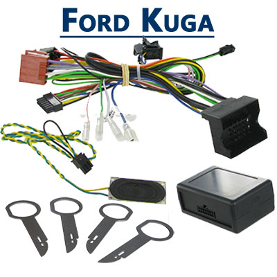 radio adapter lautsprecher und autoradio shop ford kuga. Black Bedroom Furniture Sets. Home Design Ideas