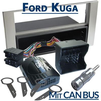 Ford Kuga Lenkradfernbedienung CAN BUS mit Autoradio Einbauset Ford Kuga Lenkradfernbedienung CAN BUS mit Autoradio Einbauset Ford Kuga Lenkradfernbedienung CAN BUS mit Autoradio Einbauset