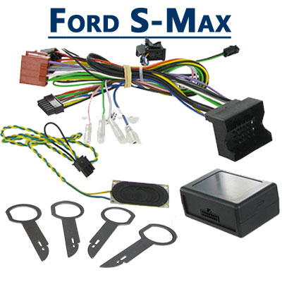 Ford S-Max Adapter für Lenkradfernbedienung mit Parksensor Ford S-Max Adapter für Lenkradfernbedienung mit Parksensor Ford S Max Adapter f  r Lenkradfernbedienung mit Parksensor