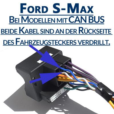 Ford-S-Max-mit-Can-Bus-Signal-am-Fahrzeugstecker