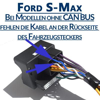 Ford-S-Max-ohne-Can-Bus-Signal-am-Fahrzeugstecker
