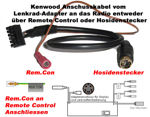 Kenwood-Lenkradadapter-Anschluß Kenwood Lenkradfernbedienungsadapter Kompatible Autoradios Kenwood Lenkradfernbedienungsadapter Kompatible Autoradios Kenwood Lenkradadapter Anschlu