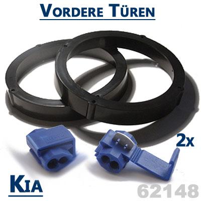 Kia-Ceed-Lautsprecher-Einbauringe-für-vordere-Türen