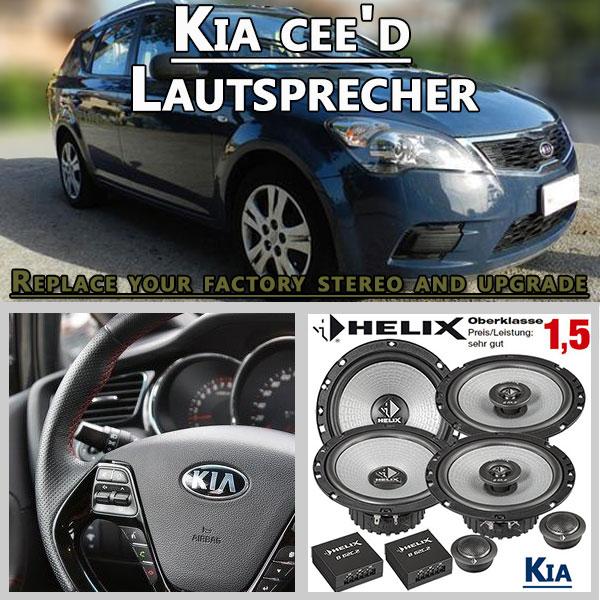 Kia-cee'd-Lautsprecher