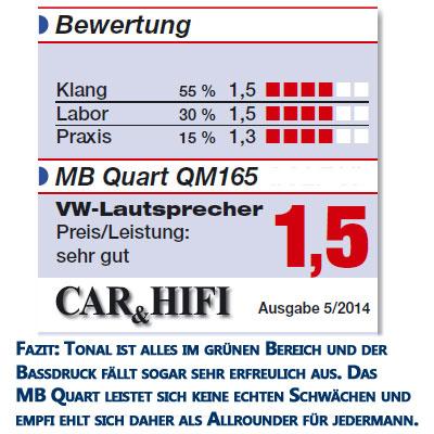 MB-Quart-QM165-VW-VI-Bewertung