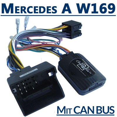 Mercedes-A-Klasse-W169-Adapter-für-Lenkradfernbedienung-mit-CAN-BUS