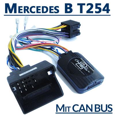 Mercedes B-Klasse T254 Adapter für Lenkradfernbedienung mit CAN BUS Mercedes B-Klasse T254 Adapter für Lenkradfernbedienung mit CAN BUS Mercedes B Klasse T254 Adapter f  r Lenkradfernbedienung mit CAN BUS