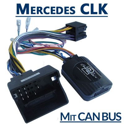 Mercedes CLK W209 Adapter für Lenkradfernbedienung mit CAN BUS Mercedes CLK W209 Adapter für Lenkradfernbedienung mit CAN BUS Mercedes CLK W209 Adapter f  r Lenkradfernbedienung mit CAN BUS