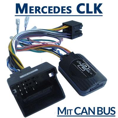 Mercedes-CLK-W209-Adapter-für-Lenkradfernbedienung-mit-CAN-BUS