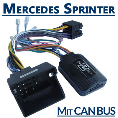 Mercedes-Sprinter-Adapter-für-Lenkradfernbedienung-mit-CAN-BUS
