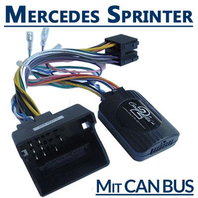 Mercedes Sprinter Adapter für Lenkradfernbedienung mit CAN BUS Mercedes Sprinter Adapter für Lenkradfernbedienung mit CAN BUS Mercedes Sprinter Adapter f  r Lenkradfernbedienung mit CAN BUS