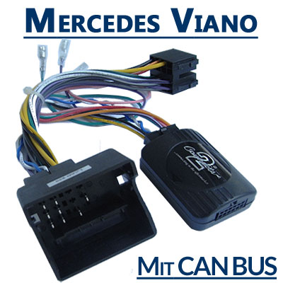 Mercedes-Viano-Adapter-für-Lenkradfernbedienung-mit-CAN-BUS