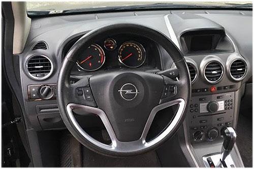 Opel-Antara-CD30-Blaupunkt-Radio